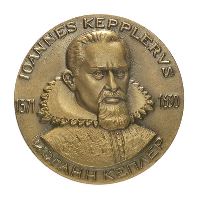 Medal commemorating Keppler symposium, 1971; obverse by unknown - print