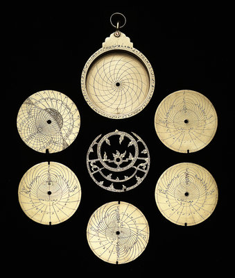 Astrolabe: dismounted obverse by unknown - print