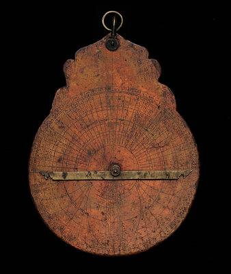 Astrolabe: dismounted reverse by unknown - print