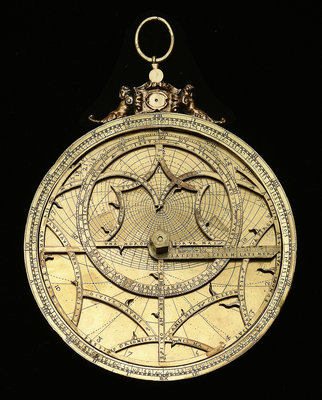 Astrolabe: mounted obverse by Jean Naze - print