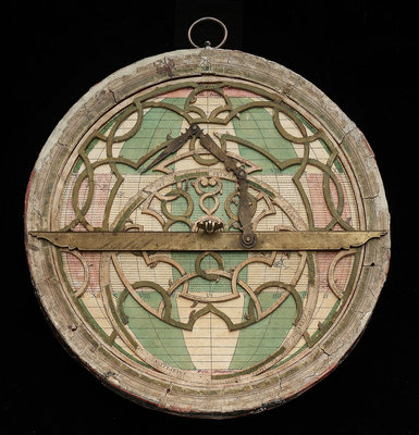 Astrolabe: mounted obverse by Nicolas Bion - print
