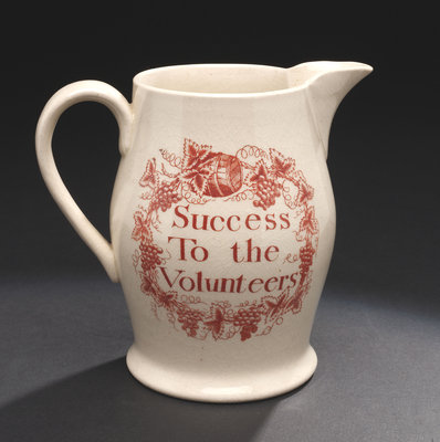 Creamware jug by unknown - print