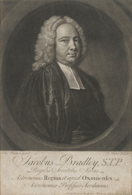 James Bradley, Astronomer Royal 1742-1762 by Thomas Hudson - print