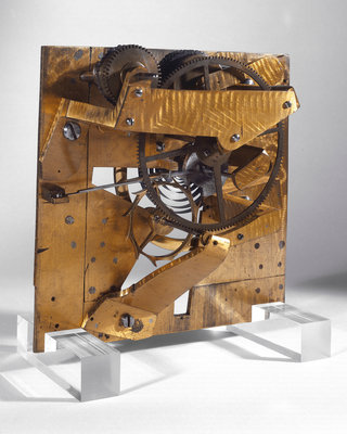Escapement model by Thomas Earnshaw by Thomas Earnshaw - print