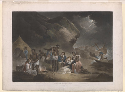 African Hospitality by John Raphael Smith - print