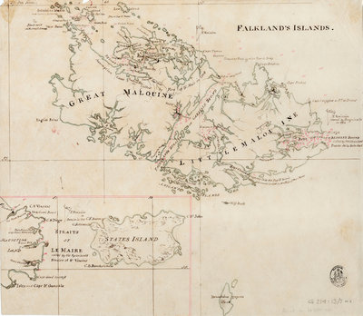 Falkland's Islands by Anonymous - print
