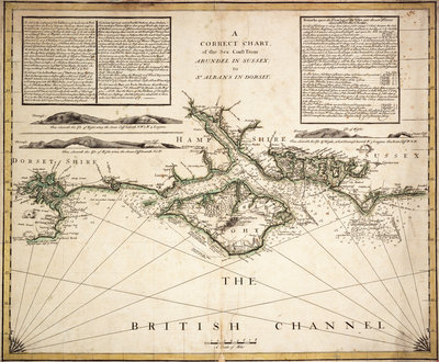 English Channel by unknown - print