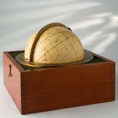 Sphere and box by Henry Hughes & Son - print