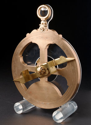Mariner's astrolabe by British Museum - print