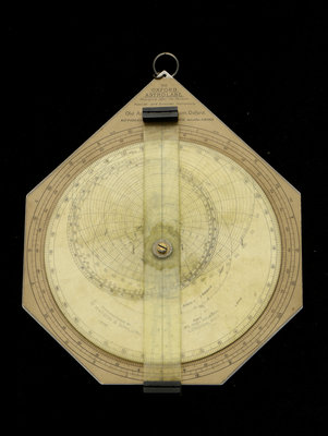 Oxford astrolabe by W. Watson & Sons - print