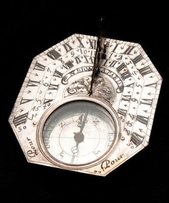 Butterfield dial by Nicolas Bion - print