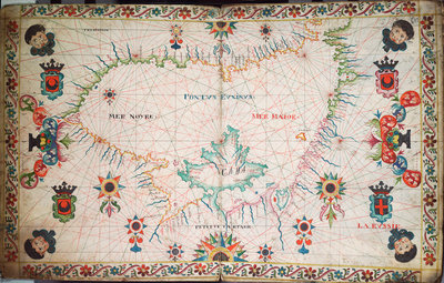 Chart of the Black Sea by unknown - print