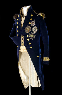 Royal Naval uniform: pattern 1795-1812 by unknown - print