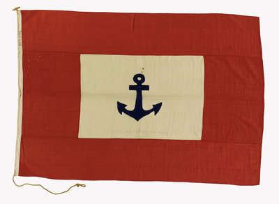 House flag, Ben Line by unknown - print