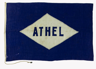 House flag, Athel Line Ltd by unknown - print