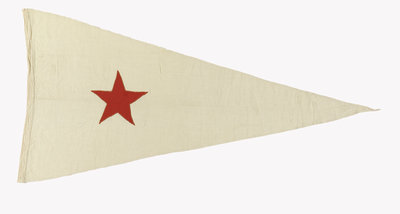House flag, Bombay Steam Navigation Co. Ltd by unknown - print