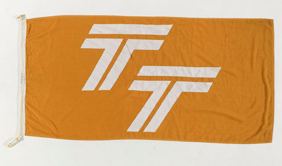 House flag, Townsend Thoresen Car Ferries Ltd by unknown - print