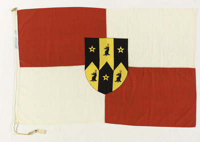 House flag, Sir R. Ropner & Co. (Management) Ltd by unknown - print