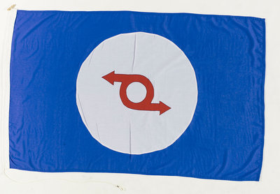 House flag, Western Ferries (Clyde) Ltd by unknown - print