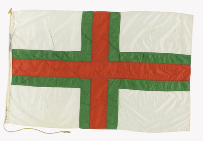House flag, British and Irish Steam Packet Co. Ltd by unknown - print