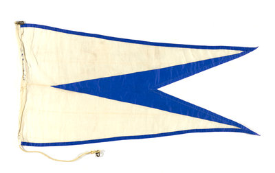 House flag, Atlantic Steam Navigation Co. Ltd by unknown - print