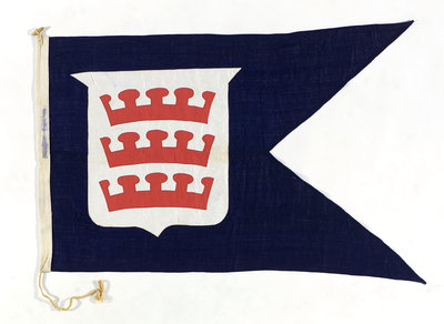House flag, Boston Deep Sea Fishing and Ice Co. Ltd by unknown - print