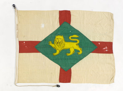 House flag, British Tanker Co. Ltd by unknown - print