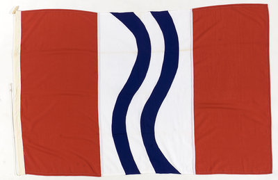 House flag, Stirling Shipping Co. Ltd by unknown - print