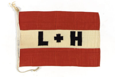 House flag, Lamport & Holt Line Ltd by unknown - print