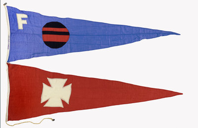 House flag, Furness-Houlder Argentine Lines Ltd by unknown - print