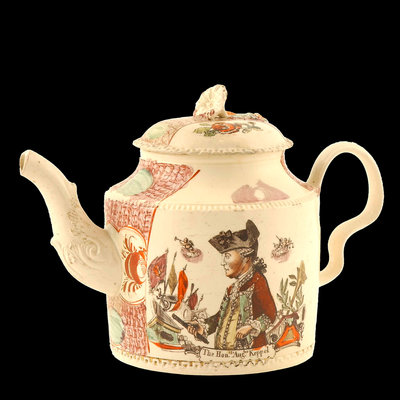 Teapot by William Greatbach - print