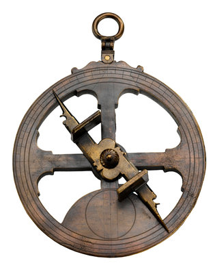 Mariner's Astrolabe by Peter Shorer - print