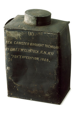 Tea canister by unknown - print