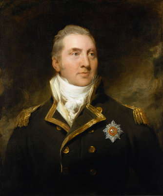 Sir Edward Pellew, Lord Exmouth (1757-1833) by Thomas Lawrence - print