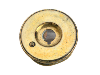 Telescope eyepiece end by unknown - print
