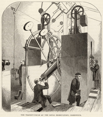 The Transit Circle at the Royal Observatory, Greenwich by unknown - print