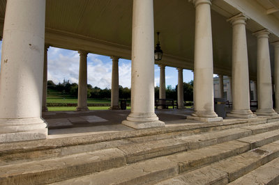 Colonnade at National Maritime Museum, Greenwich by National Maritime Museum Photo Studio - print