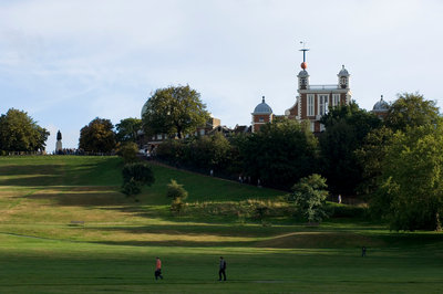 Greenwich Park and Royal Observatory by National Maritime Museum Photo Studio - print