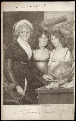 Mrs. Bryan and her Children by Samuel Shelley - print