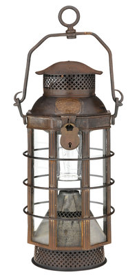 Candle lantern by Price's Patent Candle Co. Ltd. - print