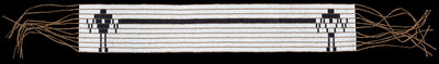 Wampum friendship belt by Ken Maracle - print