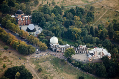 Aerial view of the Royal Observatory, Greenwich by Ben Gilbert - print