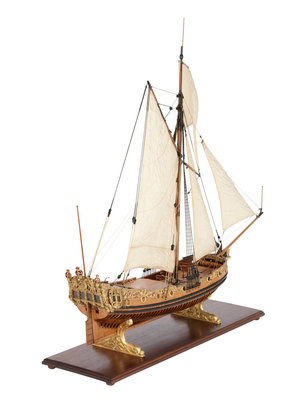Royal/ceremonial vessel (1690) by unknown - print
