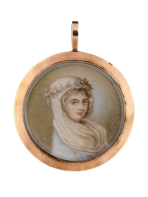 Lady Emma Hamilton (1761-1815) by unknown - print