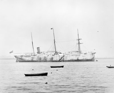 Photograph of cableship 'Silvertown' (1873) by unknown - print
