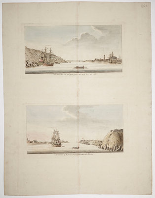 The Isthmus of Nova Scotia by J.F.W. Des Barres - print