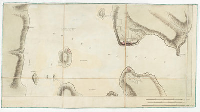 Chart of Cork harbour, Ireland by unknown - print