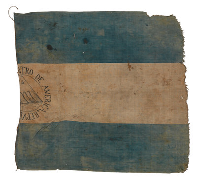 Flag, Federal Republic of Central America by unknown - print