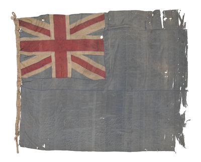 Blue Ensign (before 1864) by unknown - print