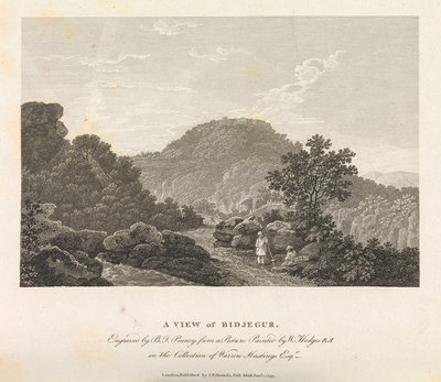 A view of Bidjegur by William Hodges - print